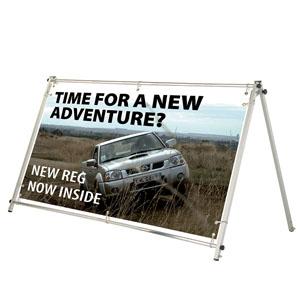 Banner frame 2m
